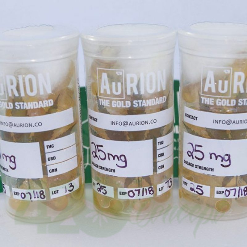 AURION Clear THC Capsules